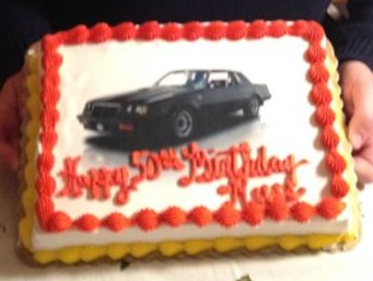 buick regal GN cake
