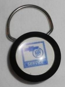 buick service dealership keyring