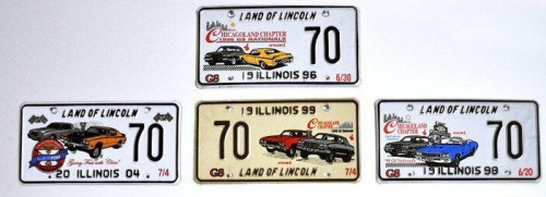 chicagoland chapter license plates 1