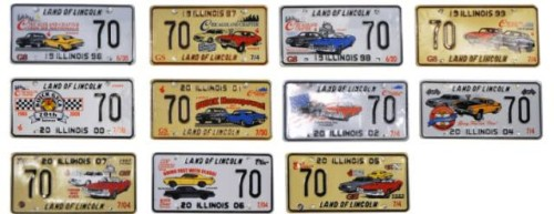 chicagoland chapter license plates 2