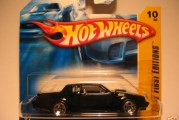 Buick Hot Wheels Short Card Variations – European Versions