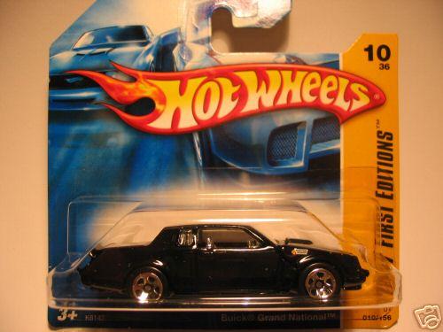 hot wheels short card 5 spoke wheels