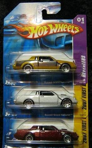 hot wheels short card versions