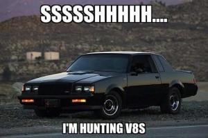 hunting v8s
