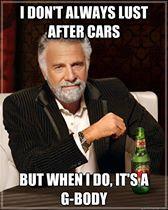 lust for gbody cars