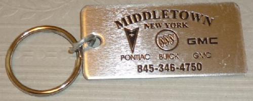 middletown buick dealer keyring