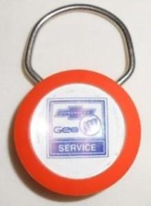 multi-brand GM key chain
