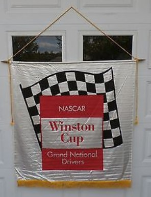 nascar winston cup banner