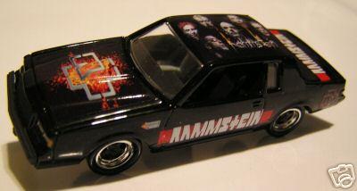 rammstein custom made HW car