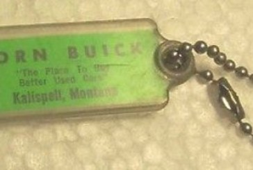Old Buick Dealer Key Rings