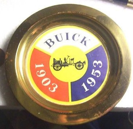 1953 buick ashtray