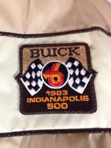1983 Indianapolis 500 Buick Nylon Lined Jacket 3