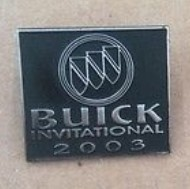 2003 Buick Invitational Pin