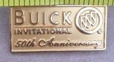 Buick Invitational 50th Anniversary Golf Pin