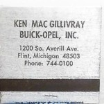 KEN MAC GILLIVRAY MATCHES