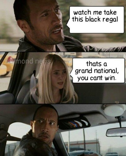 black regal race