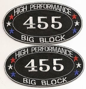 buick 455 big block patch