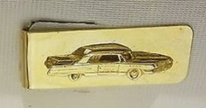 buick automobile money clip