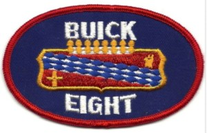 buick eight uniform patch