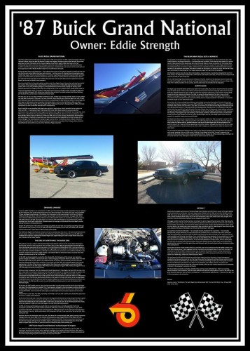 buick gn infoboard