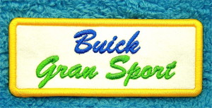 buick gran sport patch