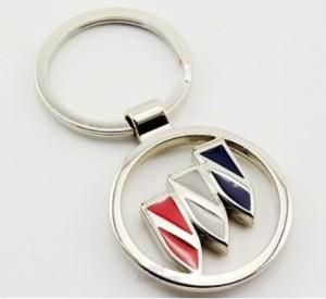 buick logo metal keychain