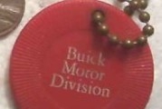 Buick Poker Chip Key Chains