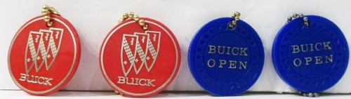 buick open golf key chains