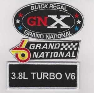 buick regal patches
