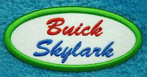 buick skylark patch oval