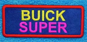 buick super patch