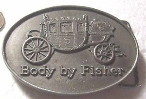 fisher body belt buckle