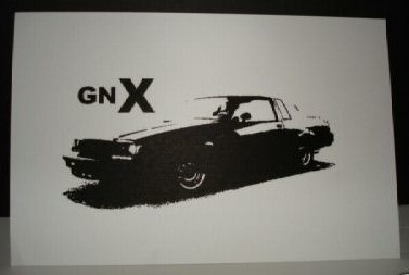 limited print buick gnx