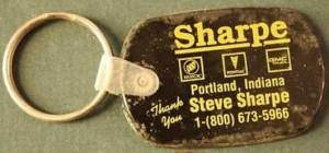 sharpe buick keychain