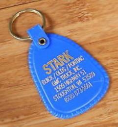 stark buick dealership keychain