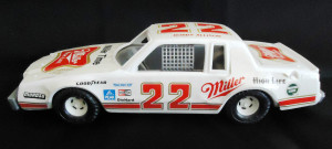 1980s ERTL BOBBY ALLISON NASCAR PLASTIC CAR