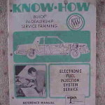 1981 Buick Know How Fuel Injection Service Manual