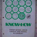1985 Buick Know How Front Wheel Drive Manual