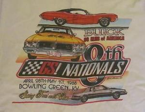 1988 buick gs nats shirt