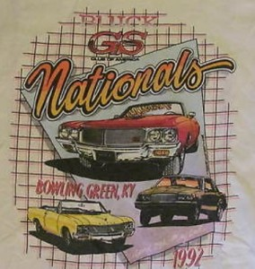 1992 GSCA Nationals Bowling Green KY shirt