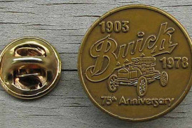 Buick Anniversary & Division Pins