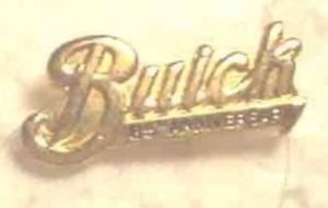BUICK 85TH ANNIVERSARY PIN