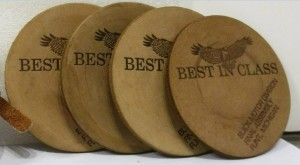 BUICK BEST IN CLASS DRINK COASTERS.JPG