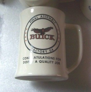 BUICK COFFEE MUG FROM FINAL ASSEMBLY FACTORY #04