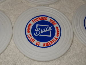 Buick Club Of America Drink Coasters