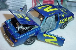 Mark Martin #2 ACM Buick Regal Nascar yesteryear