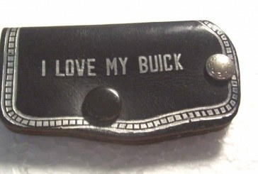 Buick Coin Change Purse