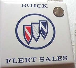 buick fleet sales drink coster