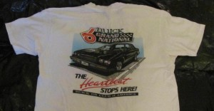 buick gs club of america shirt