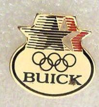 buick olympics pin